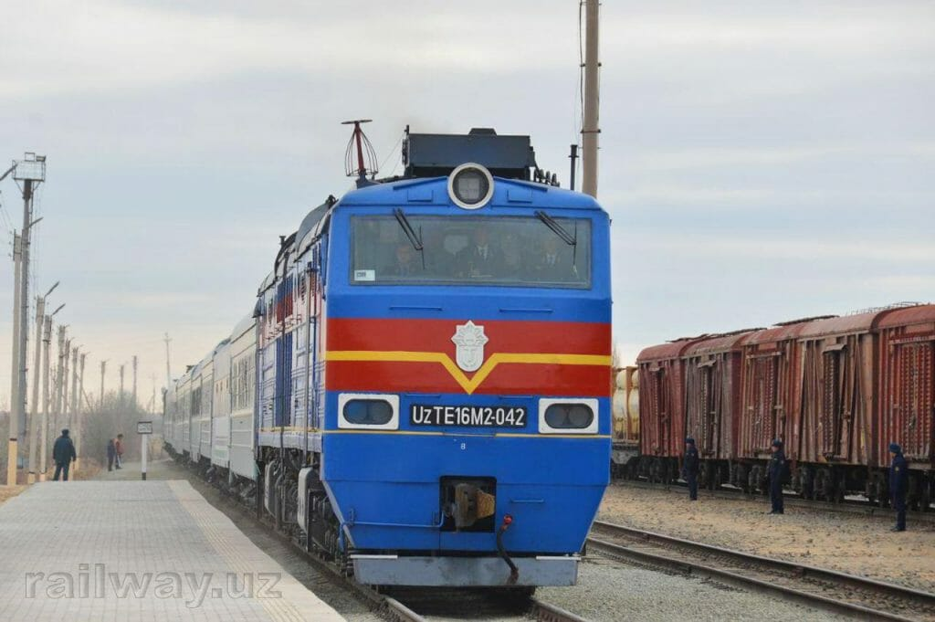 Photo: Uzbekistan Railways.