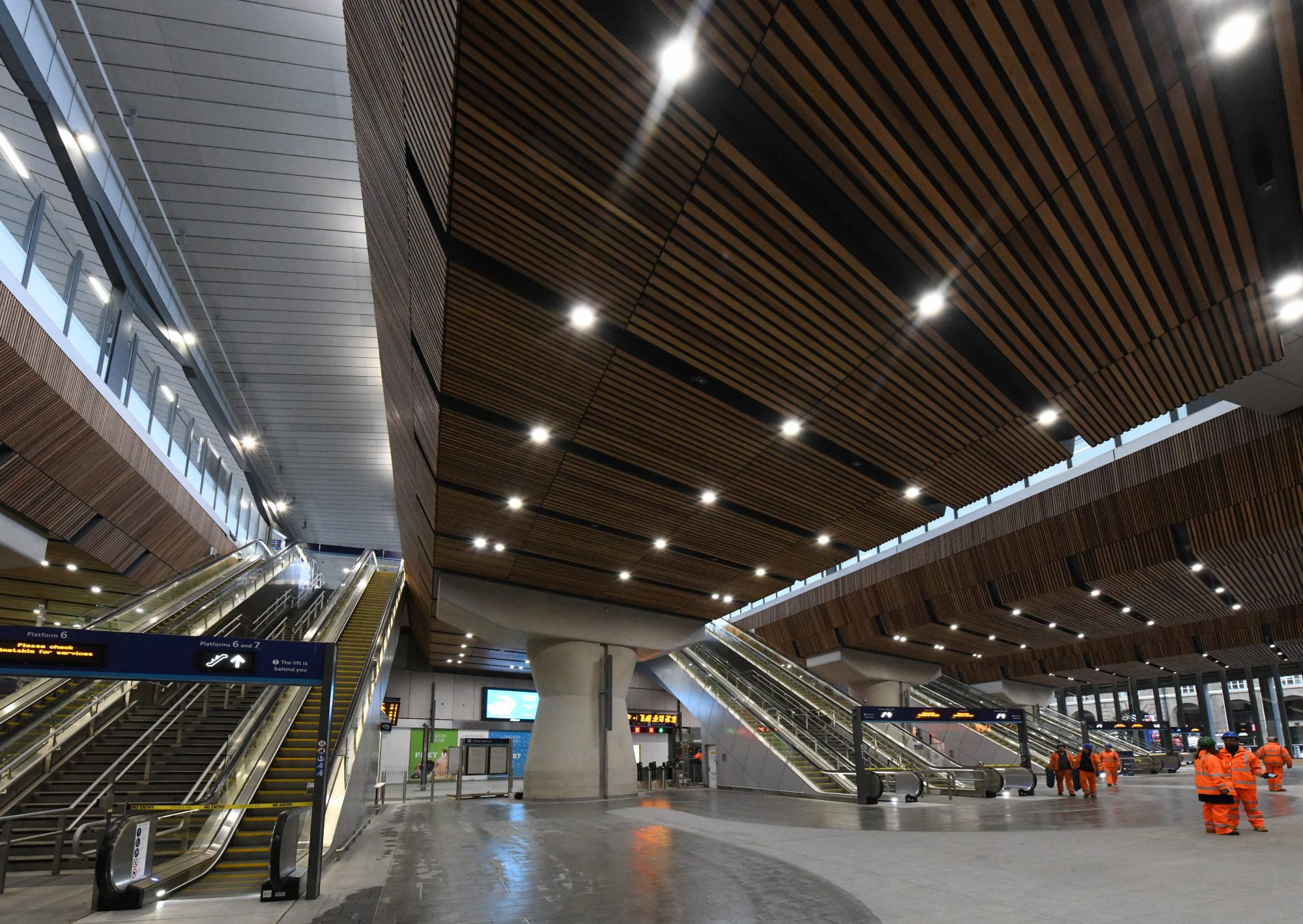 London Bridge station's new concourse. Photo: Network Rail.