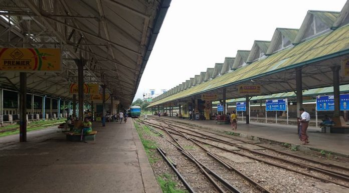 Yangon Central railway station. Photo: Z3144228.