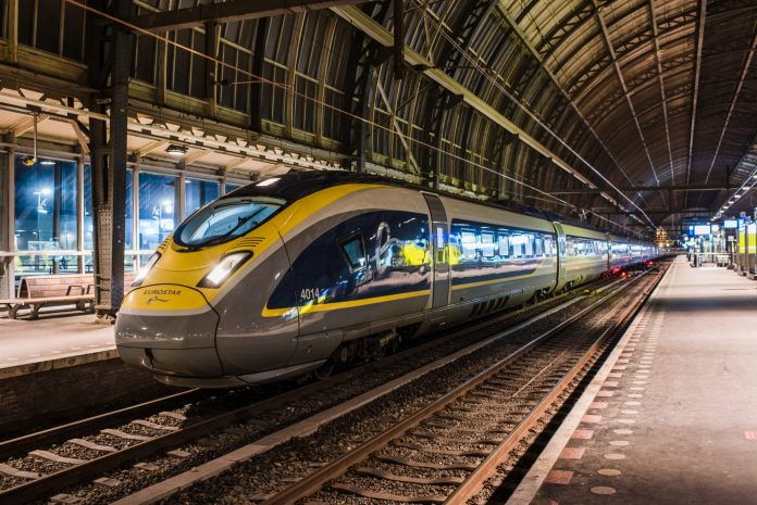 A Eurostar train at Amsterdam Centraal station. Photo: NS.