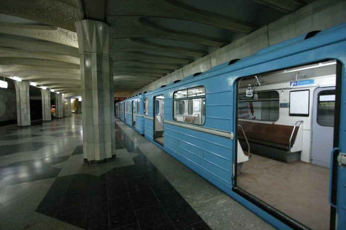 A stock photo of the Tashkent metro from 2007. Photo: Elya.