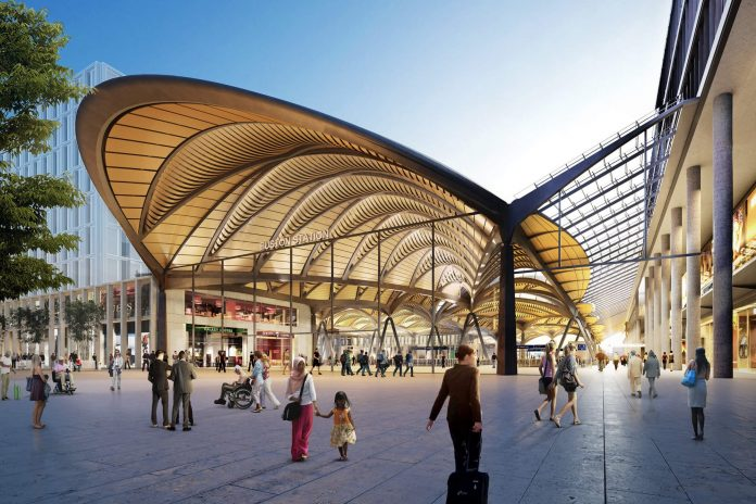 What Euston station could look like. Photo: Grimshaw.