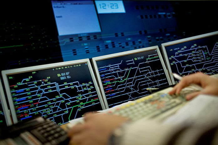 The traffic management centre in Oslo. Photo: Hilde Lillejord.