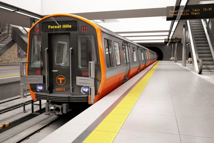 CRRC is manufacturing new vehicles for Massachusetts Bay Transportation Authority's Orange Line. Photo: CRRC.