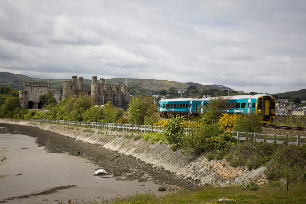 The Wales and Borders franchise has been operated by Arriva Trains Wales since 2003. Photo: W. C. Johnston.