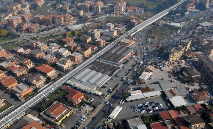 An Astaldi-led consortium constructed the driverless underground Line C of the Rome metro. Photo: Astaldi.