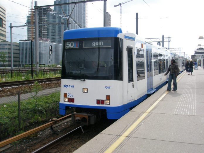 CAF was awarded a contract for the supply of 37 metro cars (pictured) for the Amsterdam metro in the 1990s. It signed a further deal with GVB in 2016. Photo: Bram Kicken.