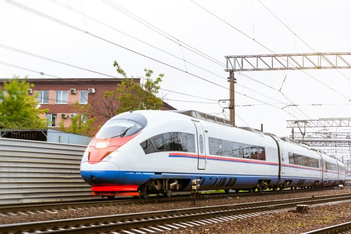 The high-speed Sapsan trains are manufactured by Siemens. Photo: Chas Design.