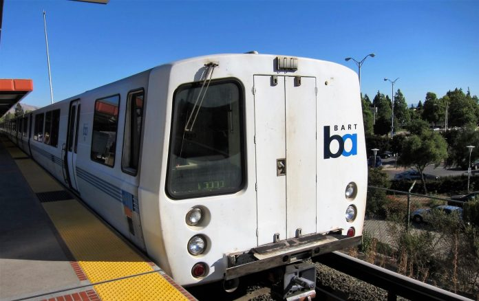 Bay Area Rapid Transit. Photo: Tak Yeung.