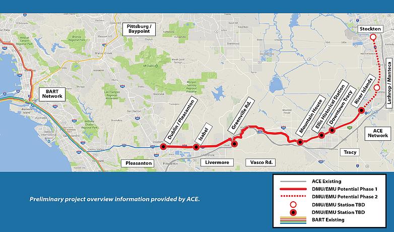 Photo: Tri-Valley – San Joaquin Valley Regional Rail Authority.