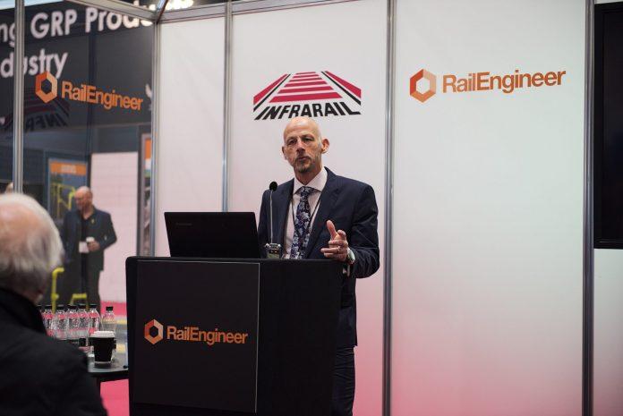 Balfour Beatty's Mark Bullock, managing director of rail and utilities.
