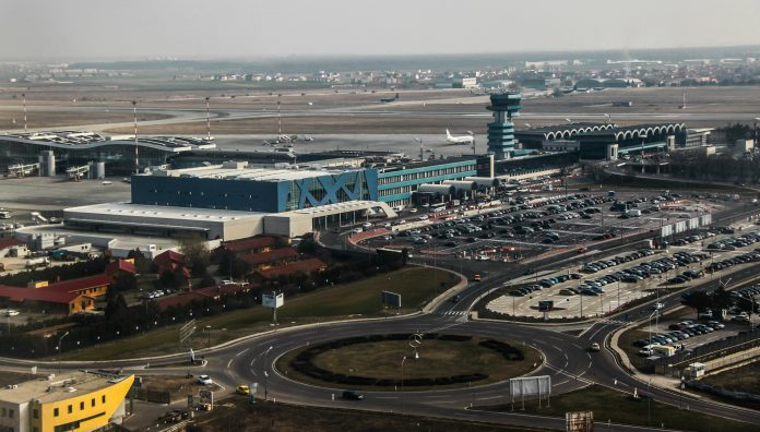 Henri Coandă International Airport. Photo: Cristian Bortes.