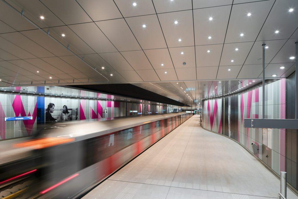 Europaplein station. Photo: Benthem Crouwel Architects/Jannes Linders.