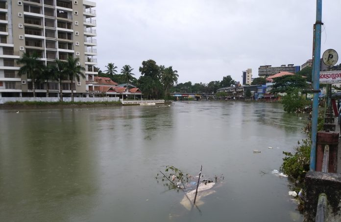 A stock photo taken of the Kerala floods. Photo: Praveenp.