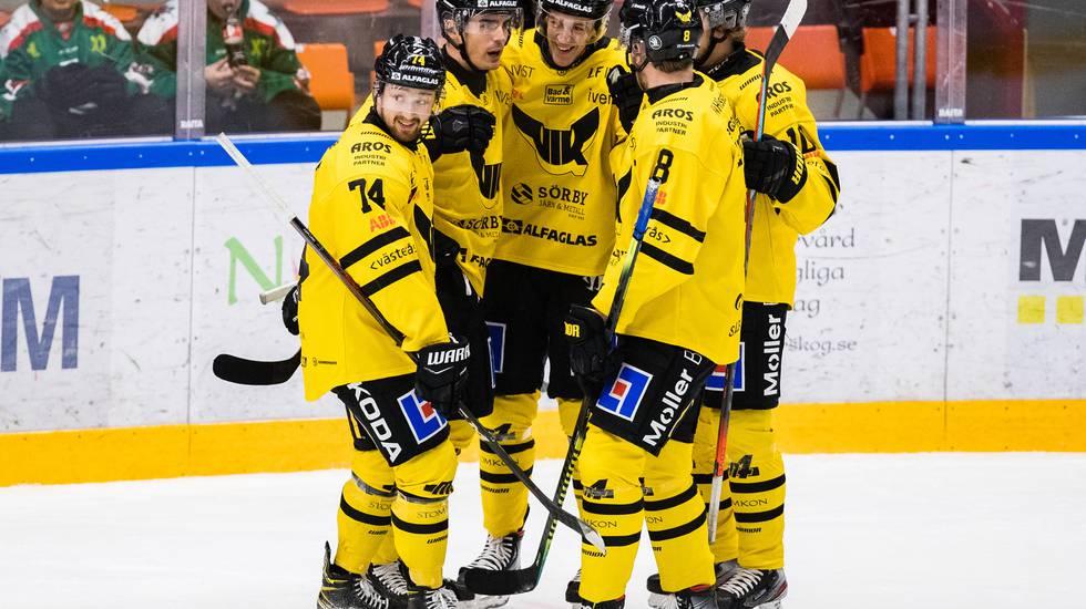 Forwarden tvåmålsskytt – ledde Västerås till seger i NHL-lånets sista match