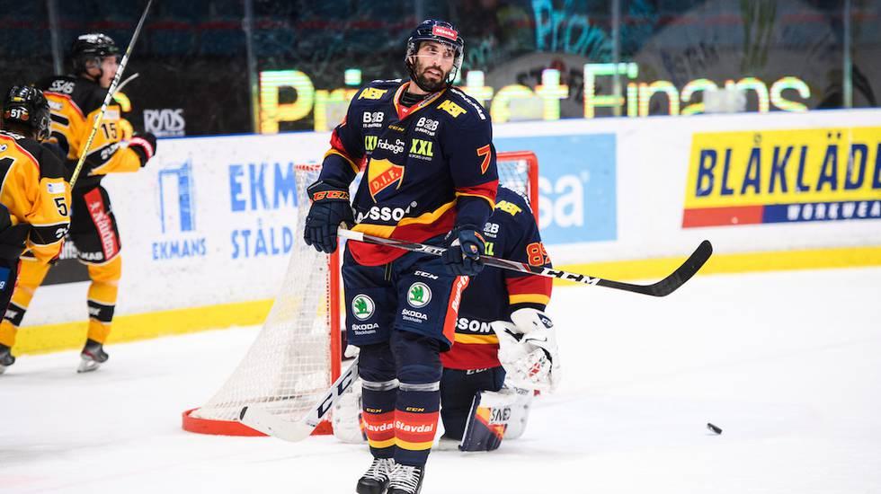 Förre NHL-backen ser ut att ha gjort sin sista match i Djurgården