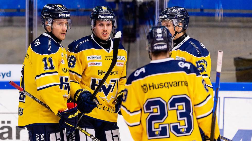 """HV71 hoppas resa sig efter coronasmittan: """"Kan stärka laget"""""""