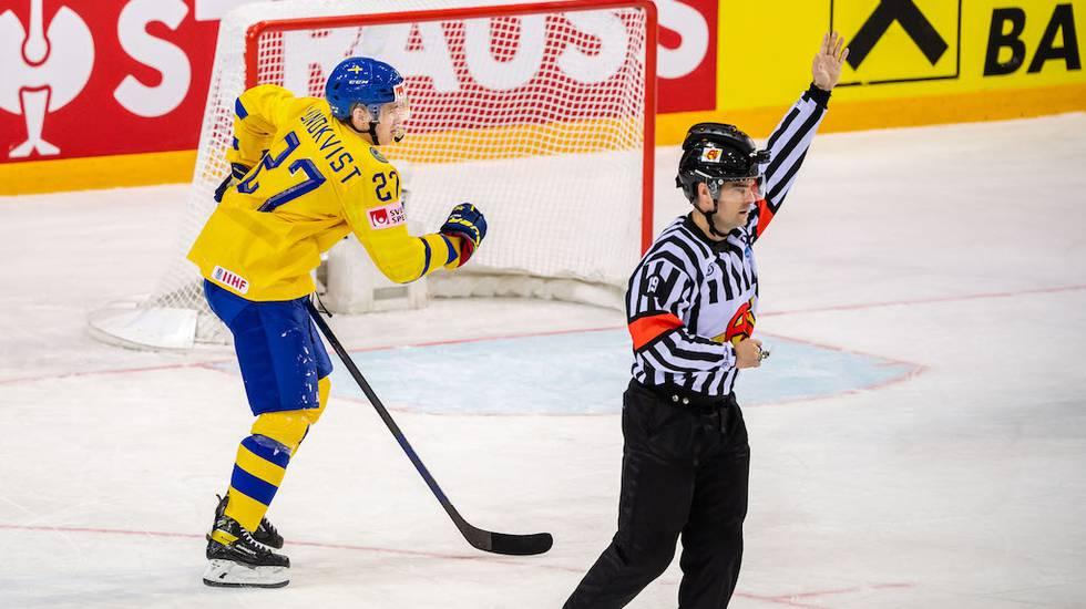 Dystert besked – VM är över för Tre Kronors succéback Lundkvist