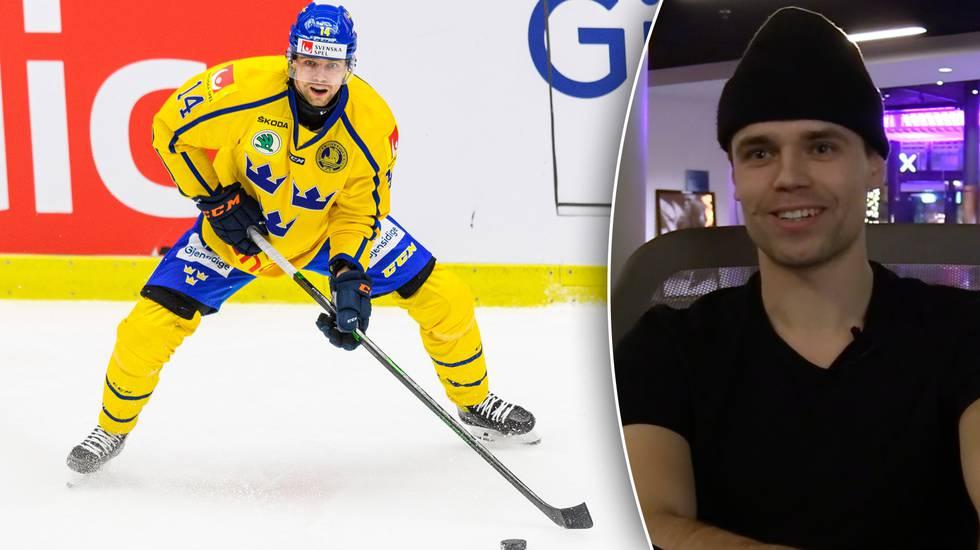 """Pettersson: """"Det bör kunna gynna mig att hålla i och styra spelet med pucken"""""""