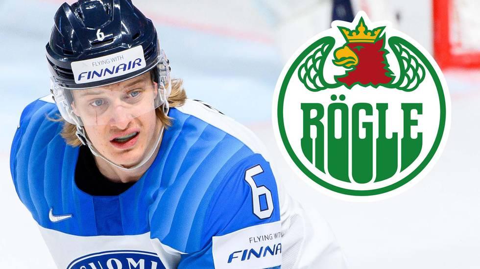 """Siktar mot NHL via Rögle: """"Det är dit jag strävar"""""""