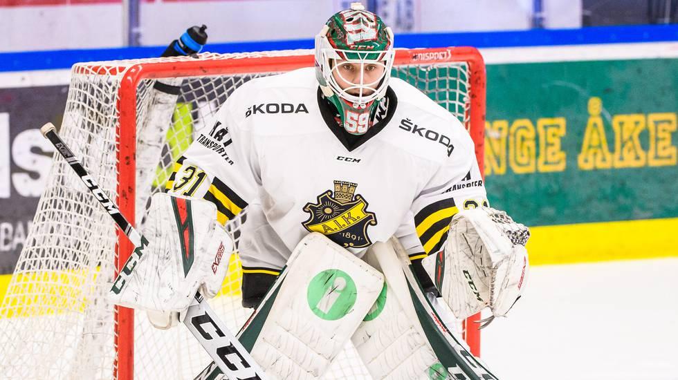 AIK:s dubbel – värvar målvaktsduo från Hockeyettan: