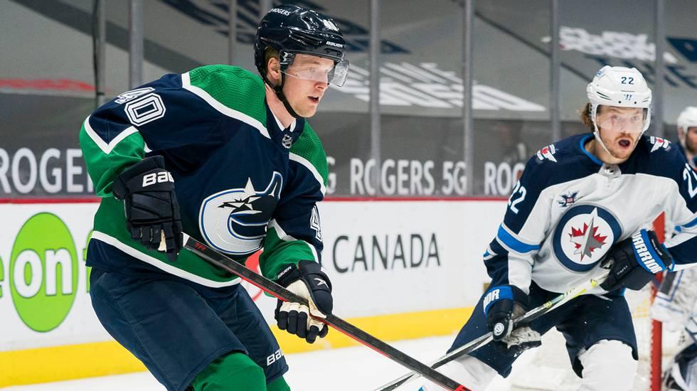 Vancouvers oro – Elias Pettersson kan missa resten av säsongen