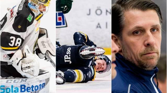 Måndagens hetaste hockeynyheter
