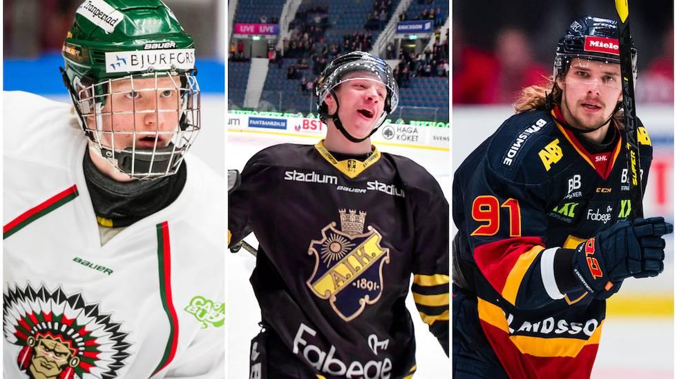 Svenska klubbarna som har fått flest spelare draftade i NHL