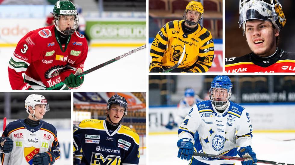 23 svenskar valdes i NHL-draften – lägsta siffran på sex år