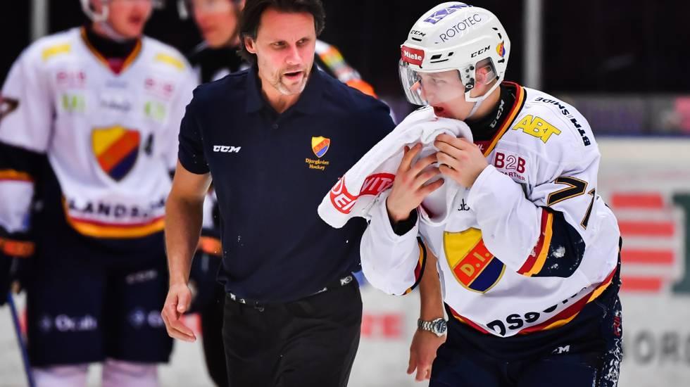Davidsson tar smällarna för Djurgården