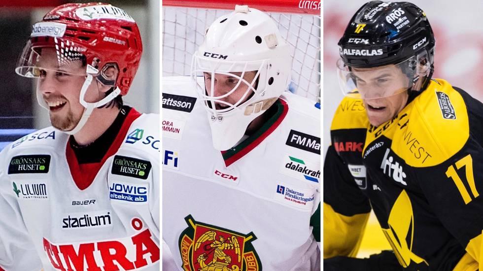 Veckans bästa spelare i Hockeyallsvenskan