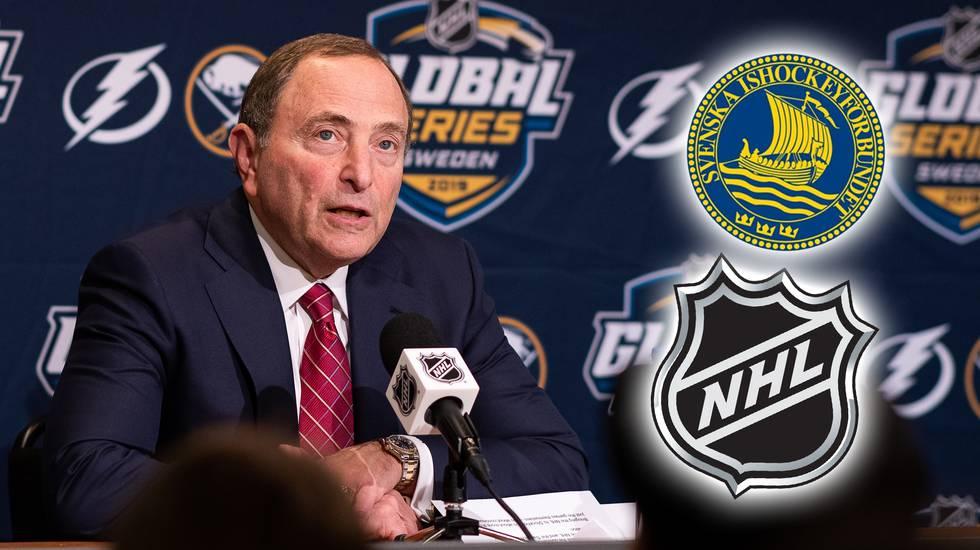 Transferavtalet mellan NHL och svensk ishockey förlängs