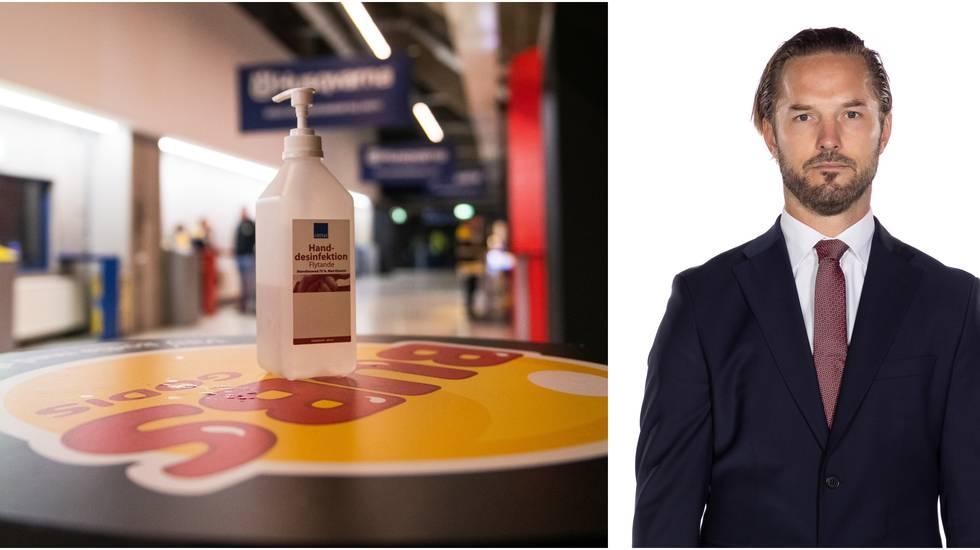 """Niklas Persson om coronaläget i LHC: """"Det har ramlat in någon mer"""""""