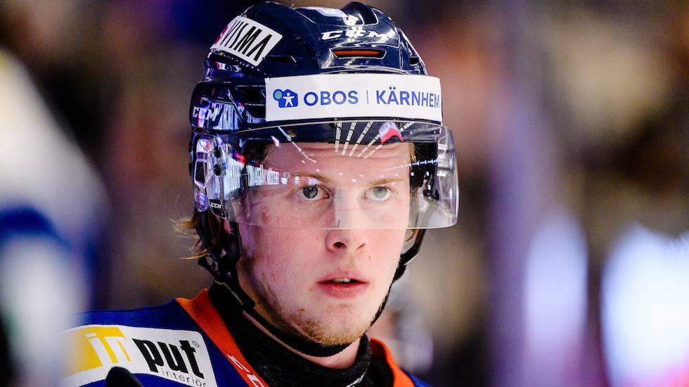 Med ett nytt tankesätt håller Växjöforwarden NHL-drömmen levande