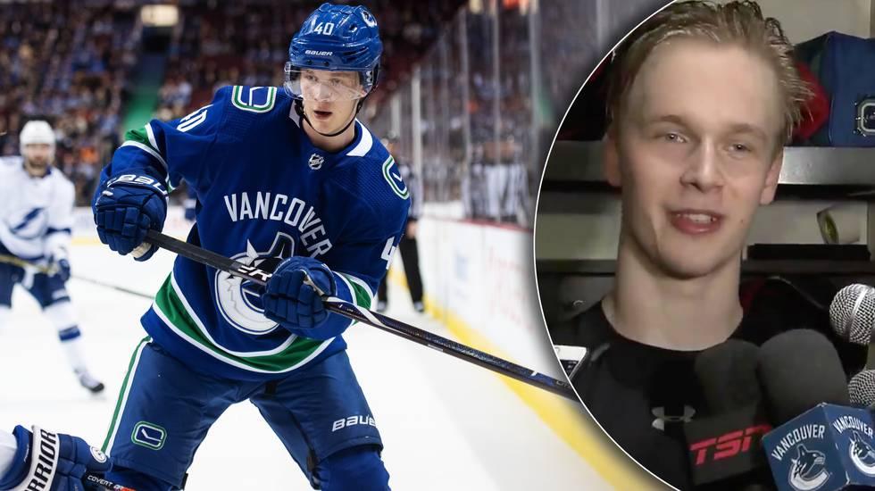 """Pettersson: """"Härligt att ha vänner och familj här"""""""