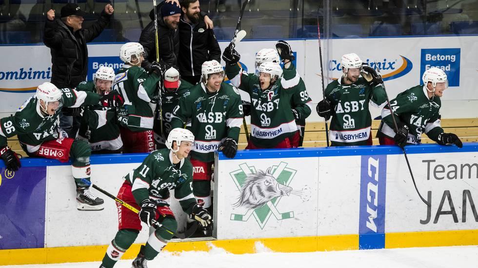Bekräftat: Karlskrona skickas ner i Hockeyettan – Väsby flyttas upp