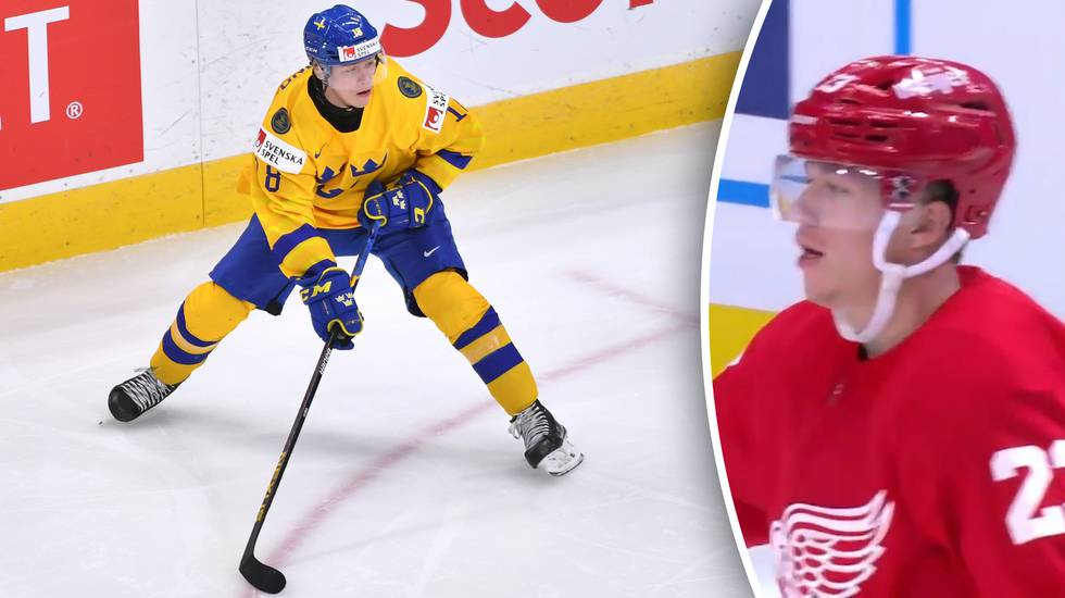 Klart: Lucas Raymond tar en plats i Detroit inför NHL-premiären