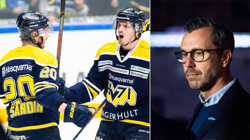 """HV71:s utmanande beslut om spelartruppen: """"Spännande framöver"""""""