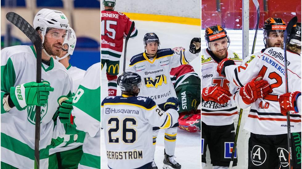 DIF förnedrat av Örebro – Rögle, Färjestad och HV71 vann
