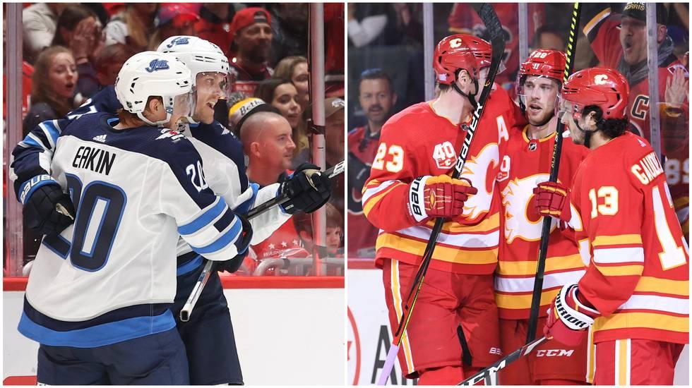 NHL-svepet: Lindholms pärla kunde inte stoppa Jets revansch