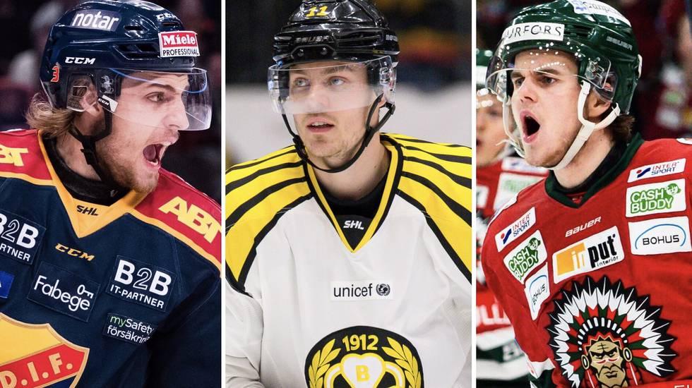 137 förhoppningsfulla svenskar på NHL-camperna