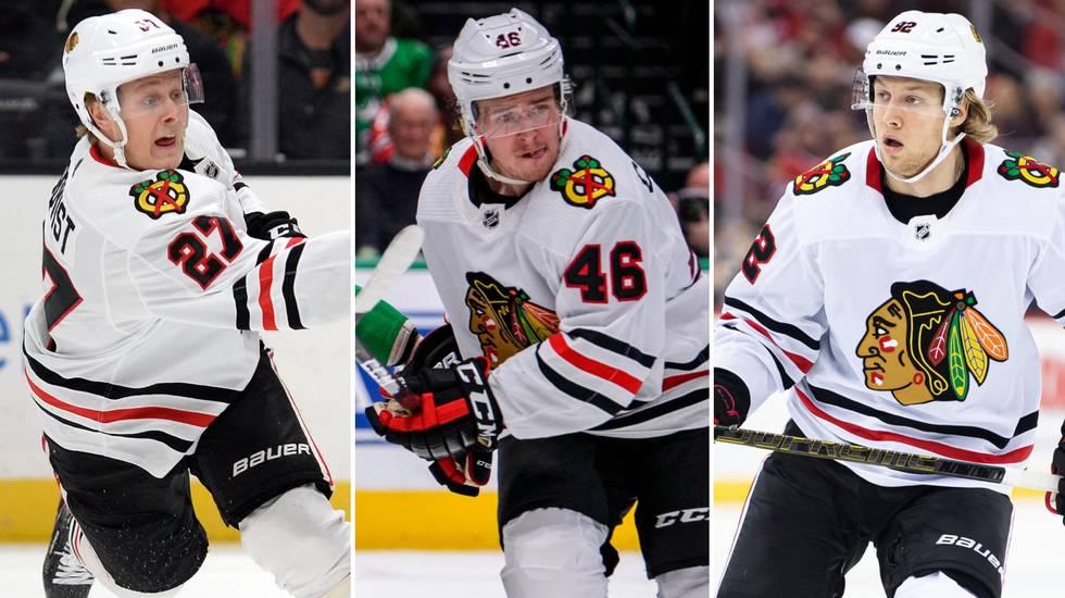 NHL-svepet: Blågult poängkalas när Chicago förlängde sviten