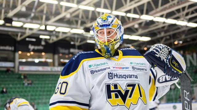 Målvaktsdebutanten stor hjälte när HV71 vann efter straffar mot Leksand