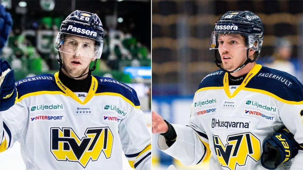 Tunga avbräck i HV71 inför första matchen mot Brynäs i ödeskvalet