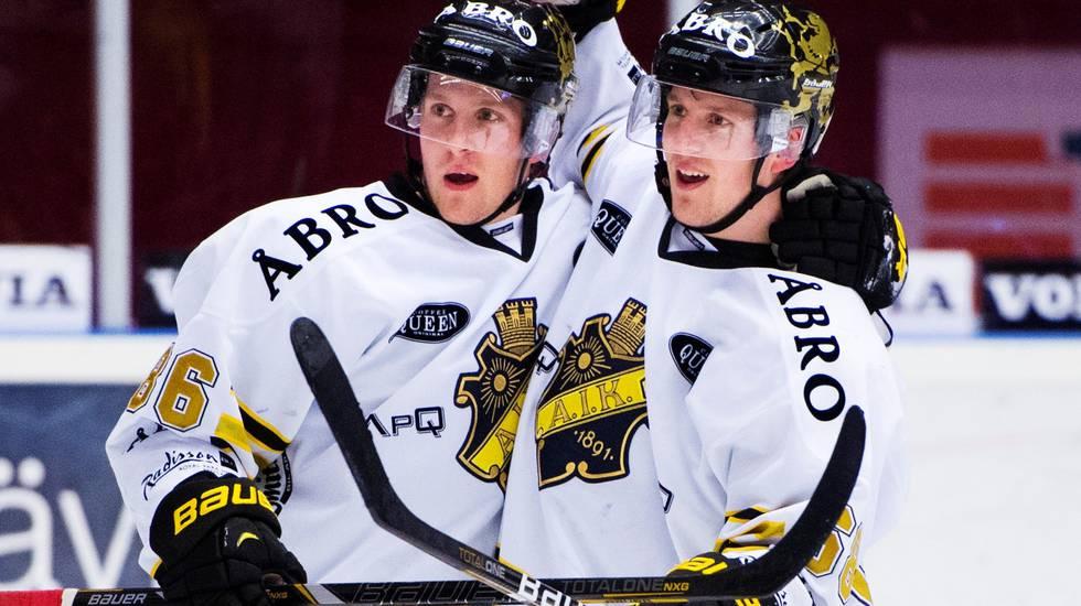 """AIK bryter med tvillingduo: """"Ömsesidigt beslut"""""""