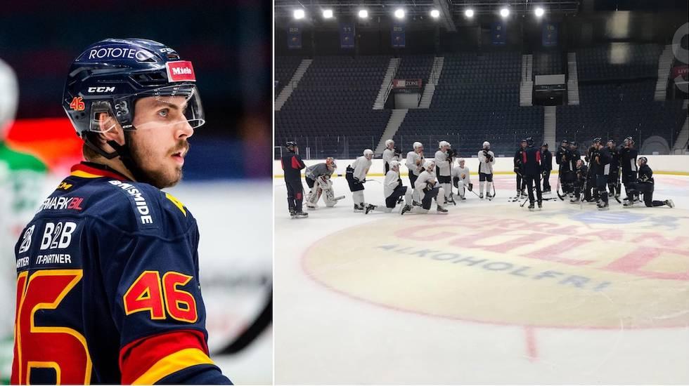 Skadesmäll direkt i Djurgården – men Grewe inleder säsongen i SHL