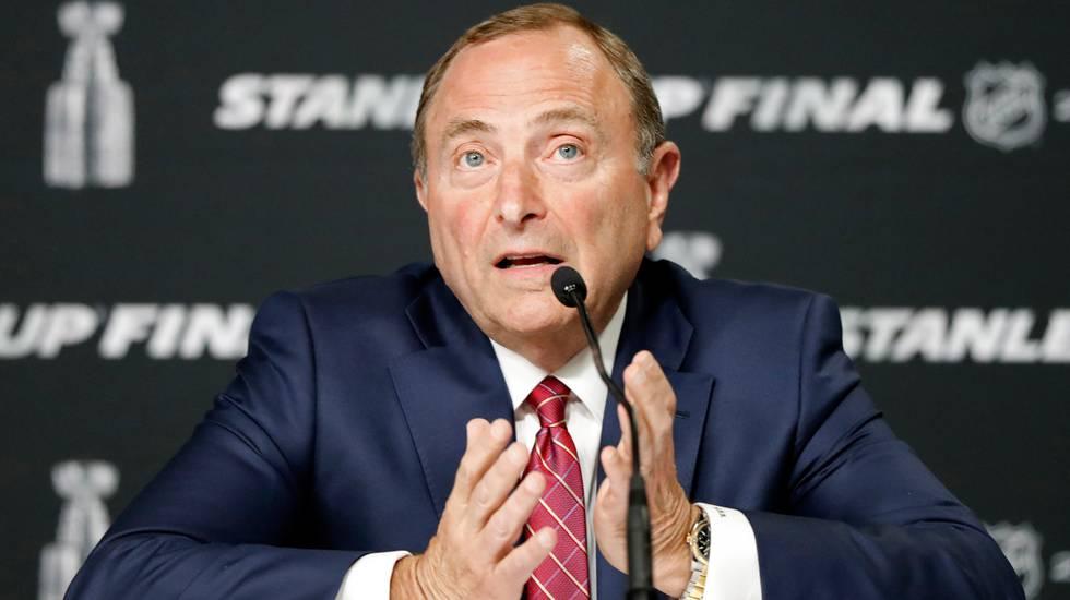 NHL:s plan: Spela klart säsongen i två städer