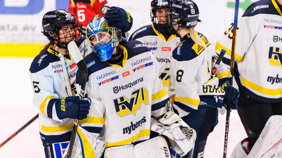 HV71 i förarsätet efter första finalen – vann med uddamålet