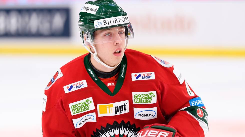 Frölundas talangfulle back lånas ut till HockeyAllsvenskan