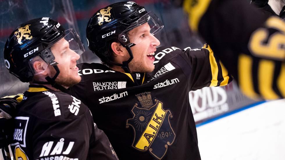 Efter målskytten – toppcentern återvänder till AIK